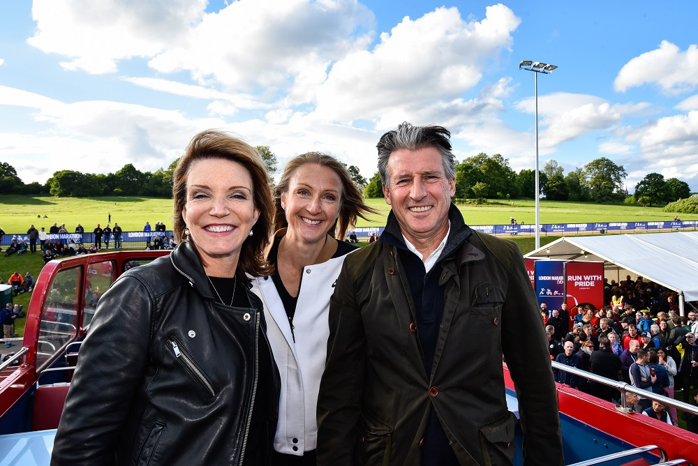 Lord Coe, Paula Radcliffe & Wendy Sly lower res